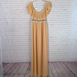 Vintage Barad Long Nightgown Size S/M